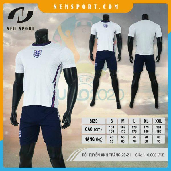 quần áo bóng đá đội tuyển anh