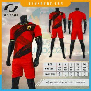 quần áo bóng đá đội tuyển bỉ