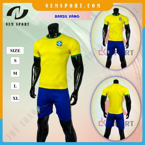 quần áo bóng đá đội tuyển brazil