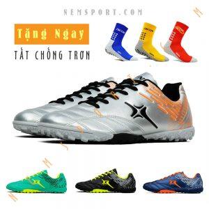 giày đá bóng sân cỏ nhân tạo iwin microfiber m02 tf