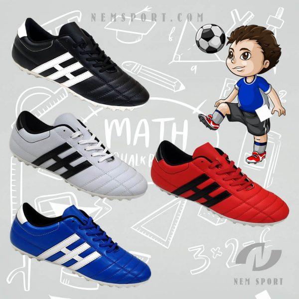 giày đá bóng trẻ em 3 sọc