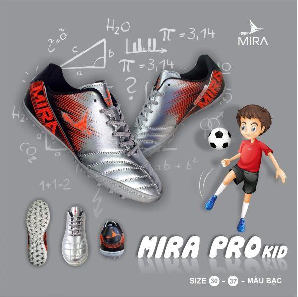 giày đá bóng trẻ em mira pro