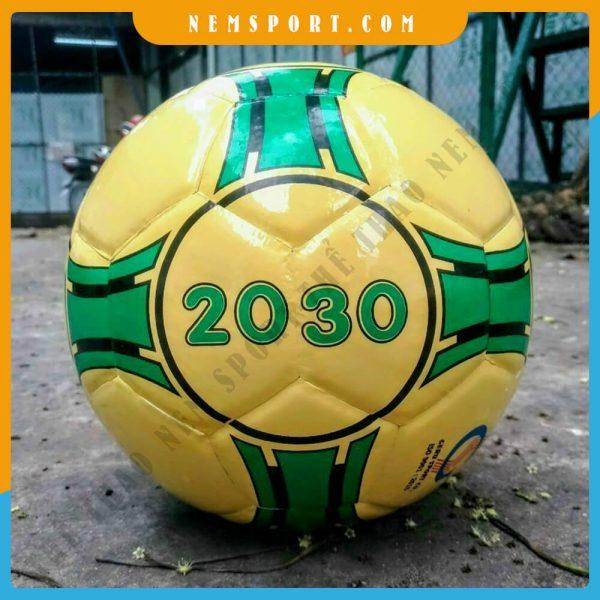 quả bóng đá futsal gerustar 2030 xanh lá