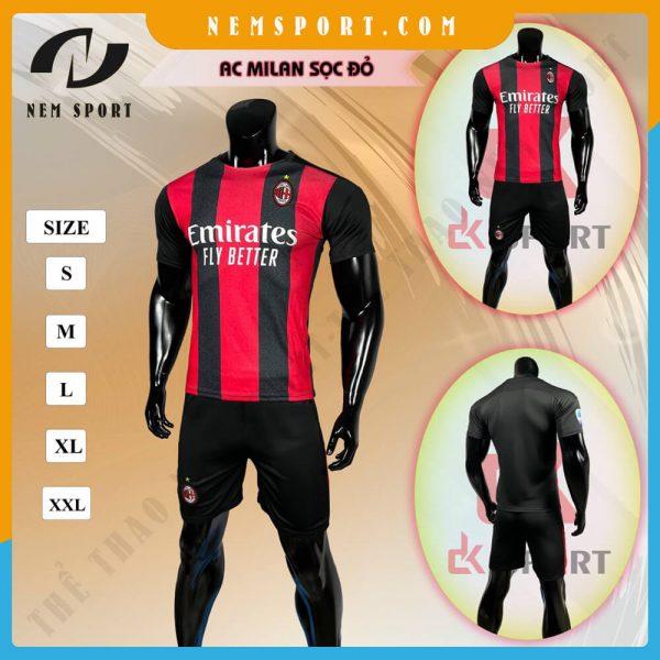 quần áo bóng đá ac milan