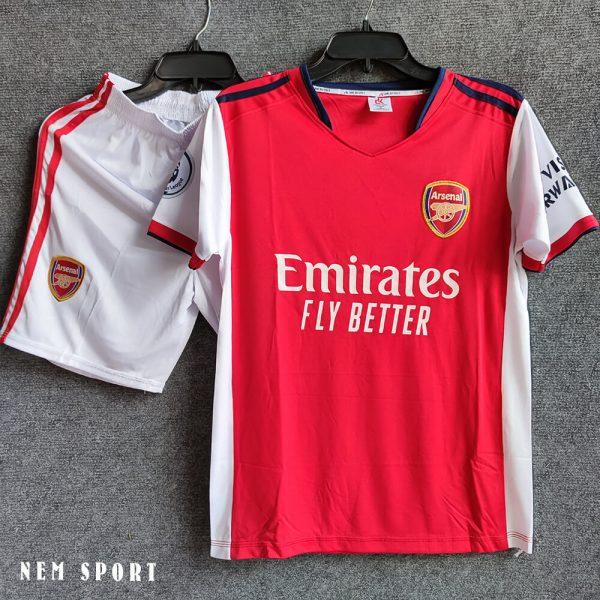quần áo đá bóng arsenal 2021