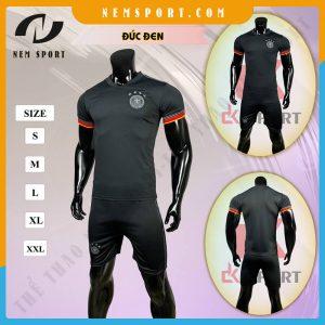 quần áo bóng đá đội tuyển đức đen