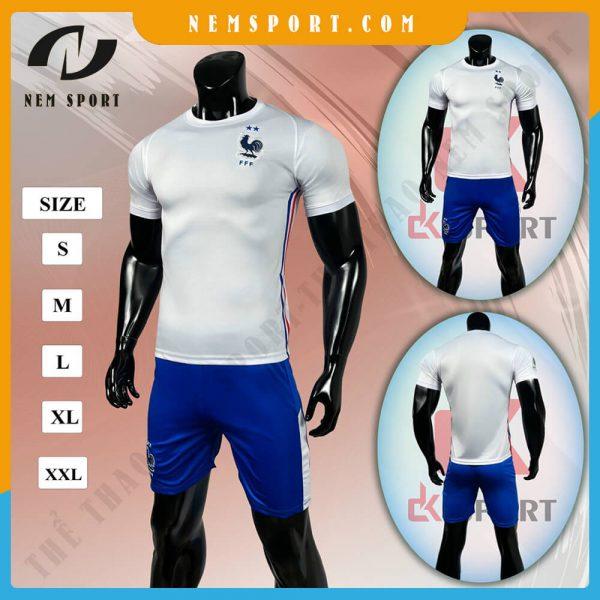 quần áo bóng đá đội tuyển pháp sân khách