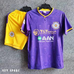 quần áo đá bóng hà nội 2021