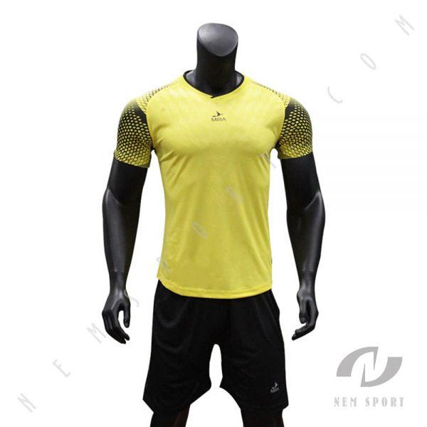 áo đá bóng không logo mira style