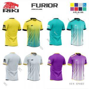 áo đá bóng không logo riki furior