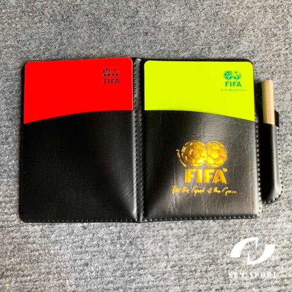 thẻ vàng thẻ đỏ trọng tài
