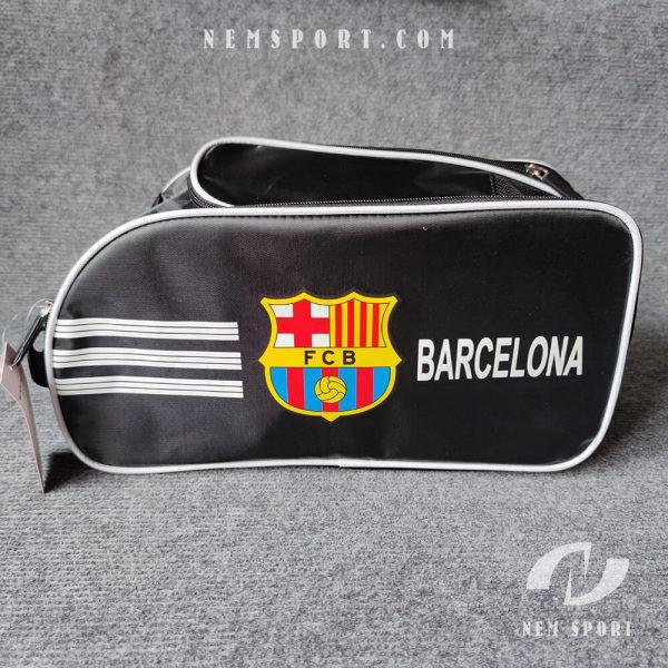 túi đựng giày đá bóng câu lạc bộ Barcelona