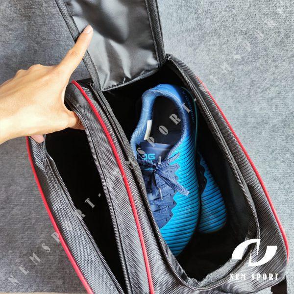 túi đựng giày đá bóng nike đen