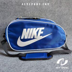 túi đựng giày đá bóng nike xanh