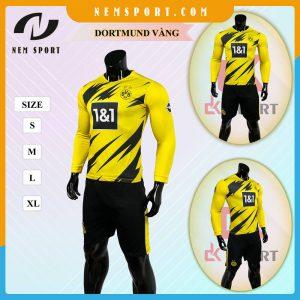 quần áo bóng đá tay dài dortmund