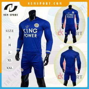 quần áo bóng đá tay dài Leicester City