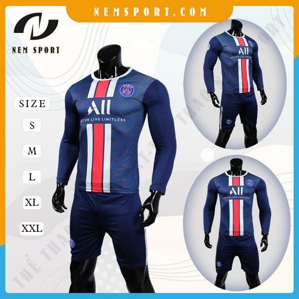 quần áo bóng đá tay dài Paris Saint Germain