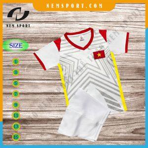 quần áo bóng đá đội tuyển việt nam trắng