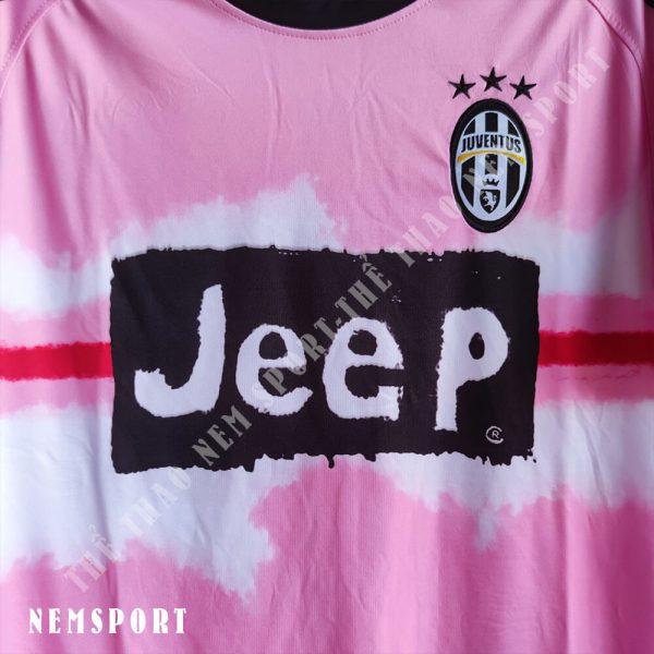 quần áo bóng đá juventus hồng