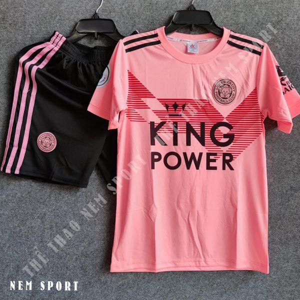 quần áo bóng đá leicester city hồng