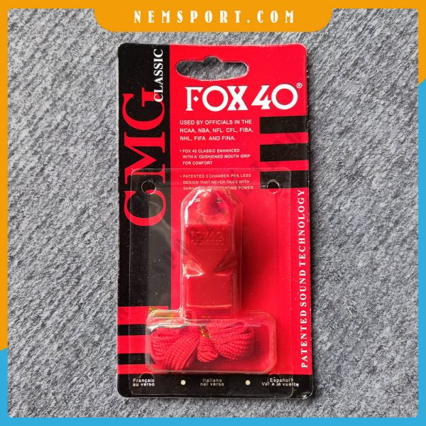còi trọng tài fox 40 classic
